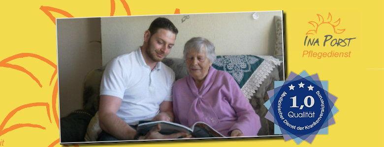 Beratung zur Pflege zuhause -Ina Porst